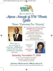 ANSWFL 2018 Gala Flyer